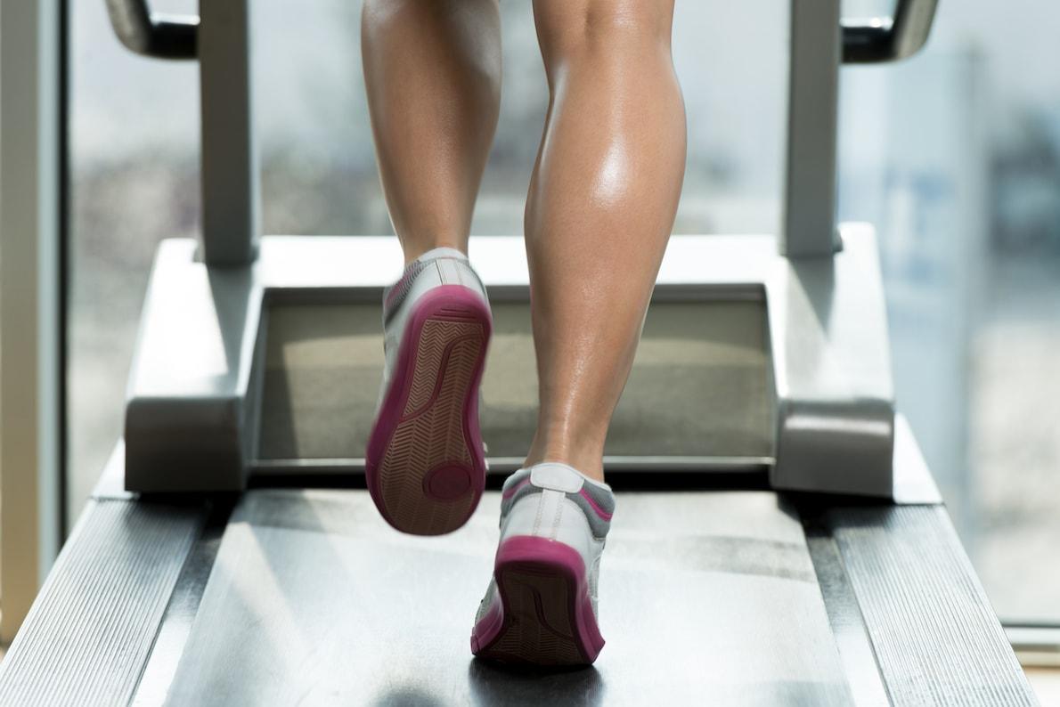 running & walking surface treadmill