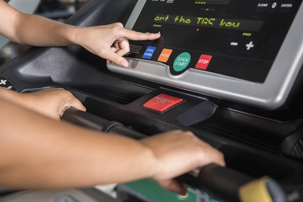 lcd display treadmill